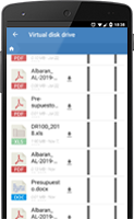 Mobile app CRM customer and contact management